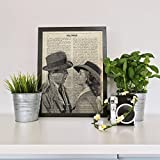Lámina para enmarcar 'Casablanca' con definición de Hollywood. Nacnic. Laminas decorativas para...
