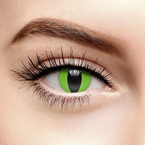 - Schlange Kontaktlinsen