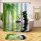 Liudaye Bad Wasserdicht und Mehltau-Nachweis Duschvorhang