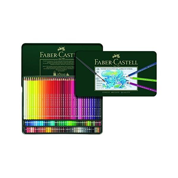 Faber-Castell Polychromos – Lápices de colores con bloc de dibujo A4