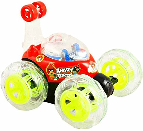 Tickles Dora The Explorer Stunt Racer Remote Musical Flashing Lights Radio Control Car RC 360' Rotating Toy For Kids 26 cm  available at amazon for Rs.650