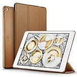 iPad Air 2 Hülle, ESR® Yippee Bildserie Auto aufwachen / Schlaf Funktion Wickelfalz Ledertasche mit Lichtdurchlässig Rückseite Abdeckung Schutzhülle für iPad Air 2 / iPad 6 (Mokka Braun)Über ESR  ESR, ein weltweit eingetragene Marke, liefert kontinu...