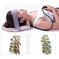 D&F Alineación De Cervical Traction Pillow Neck - Recomendado para Doctores Mejoran La Alineación De La Columna Vertebral Reducen El Dolor De Cuello