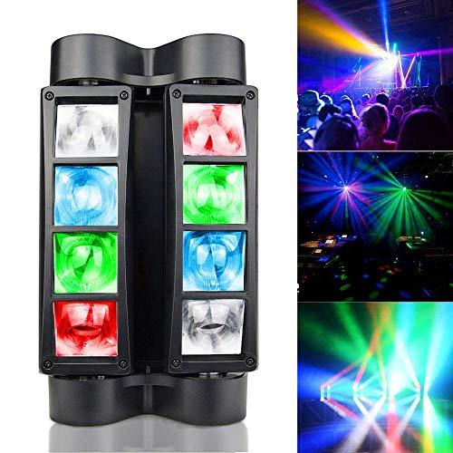 Moving Heads Light Spider Sound Und DMX 512 Control 8 LED Bühneneffektlicht Für Bar Club DJ Disco Home Party 1