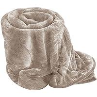 Kuscheldecke, Fellimitat, weich, warm, Fleece, Tier-Motiv, für Einzelbett 33462a0383