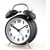 DIDADI Alarm clock Alarm kreativen Persönlichkeit mute Schöne moderne Doppel ring Uhr einfache 4-Zoll bett Wecker preisvergleich bei billige-tabletten.eu