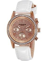 Akribos XXIV Reloj de cuarzo  Blanco 36 mm