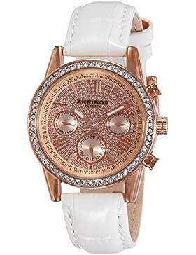 Akribos XXIV Damen-Armbanduhr Analog Quarz AK871WTR