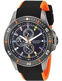 Nautica NAPFRB017 Reloj de Pulsera para Hombre