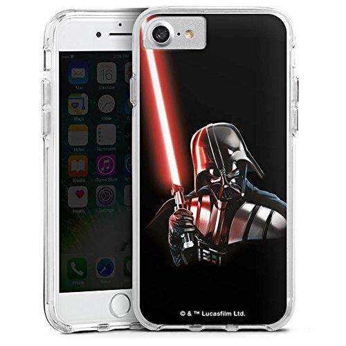 Apple iPhone 6 Plus Bumper Hülle Bumper Case Glitzer Hülle Star Wars Fanartikel Merchandise Merchandising Pour Supporters Bumper Case transparent