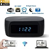 1080P HD Cámara reloj despertador espía de vigilancia oculta visión nocturna Sensor de movimiento...