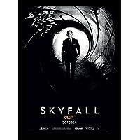 James Bond Skyfall Teaser A3 Framed Print preiswert