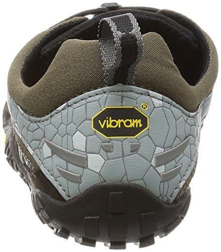 Vibram 5 Fingers - Spyridon, Scarpe sportive - Running Uomo Verde (Green/Grey)