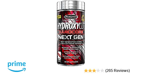 Buy Muscletech Hydroxycut Hardcore Next Gen 100 Capsules Online At