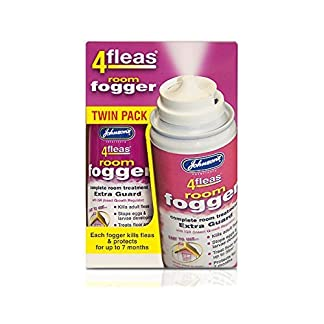 Johnson's 4fleas Room Fogger Twin Pack (2x100ml) Johnson's 4fleas Room Fogger Twin Pack (2x100ml) 51aC6evZg4L
