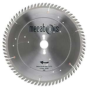 Mecabois - Lame de scie circulaire au carbure de finition - Silergie IV -Ø(mm)350 / Alésage : 30 / Epaisseur : 3.5 / Nombre de d
