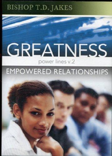 Preisvergleich Produktbild Greatness : Empowered Relationships - Powerlines v.2