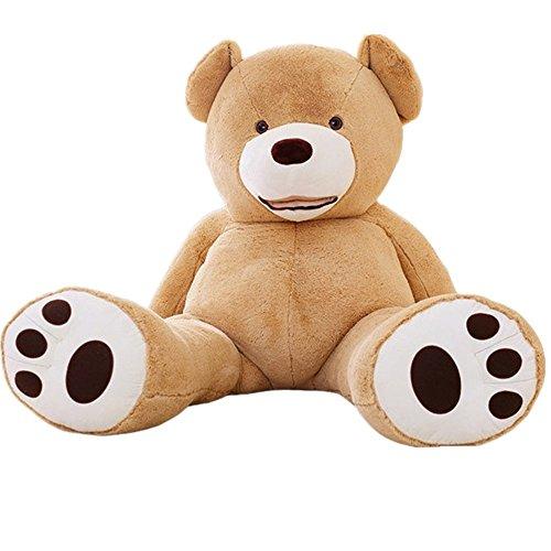 YunNasi Samtig Weich und Kuschelig Riesiger Plüschtier Teddybär 100cm 130cm 160cm 200cm 250cm