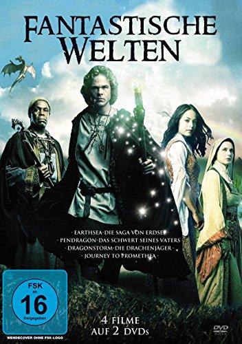 Fantastische Welten: Earthsea / Pendragon / Dragonstorm / Journey to Promethea (2 DVDs)