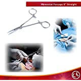 bdeals 12,7cm droite Pêche à la mouche de verrouillage Mosquito Hemostat Forcep Instruments Chirurgicaux