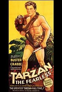Tarzan the Fearless Poster Movie 27 x 40 In - 69cm x 102cm Buster Crabbe Julie (Jacqueline Wells) Bishop E. Alyn Warren Edward (Eddie) Woods Philo (Philip P.H.