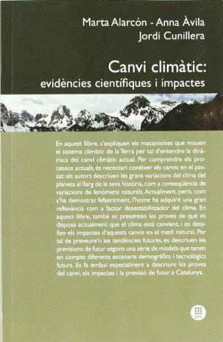 Canvi climàtic: Evidències científiques i impactes (Hyperion) por Marta Alarcón Jordán