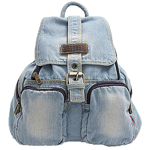 Imagen de donalworld  bolso  de vaquero para mujer m, color azul, talla m