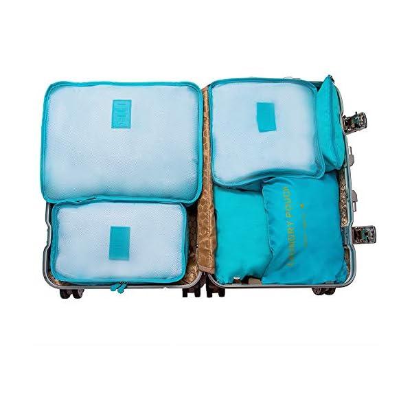 7 Sacs Organisateur Rangement Voyage De Set Cube dCoQrWxBe