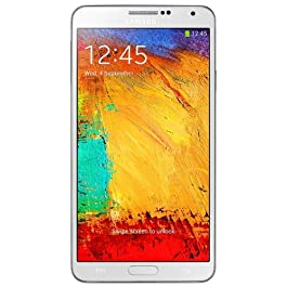 Samsung Galaxy Note 3 Smartphone (14,5 cm (5,7″) Touchscreen, RAM 3GB, Fotocamera da 13 Megapixel, Android 4.3), Bianco [Germania]