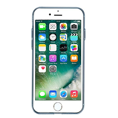 iPhone 7 Plus Hülle TPU Case, AVIDET Ultra Slim TPU Case für iPhone 7 Plus Schutzhülle (Rot) Blau