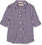Scotch & Soda Shrunk Jungen Hemd Regular FIT Yarn Dyed Check Shirt in poplin Quality 149299, Gr. 152 (Herstellergröße: 12), Mehrfarbig (Combo B 218)