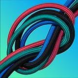Expander gomma corda 6mm 8mm 10mm Nero Verde Rosso Blu al metro (1,20€ 1,70€/m)