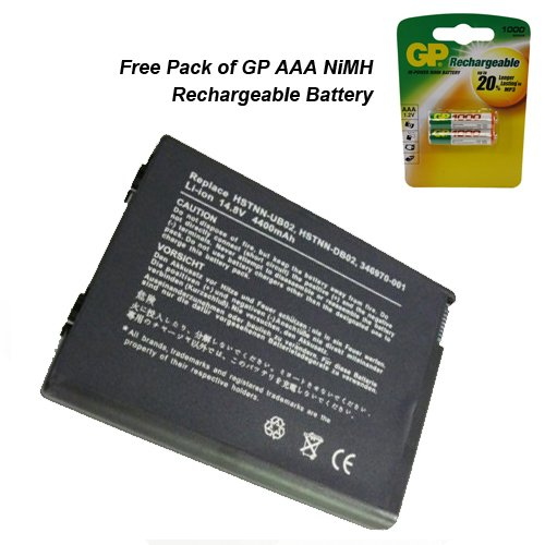 HP Compaq Business notebook NX9105base Unit (Cto)-(PD481AV)-Batteria Powerforlaptops di alta qualità batteria 8celle