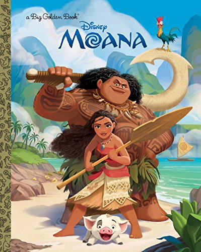 Moana Big Golden Book par Rh Disney