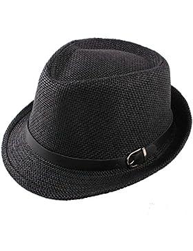 TININNA elegante paglia di estate fedora Cappello spiaggia Cappello Cappello di Sun per gli uomini e donne