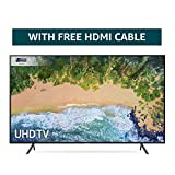 Samsung 65NU7100 65-Inch Ultra HD Smart 4K TV - Charcoal Black (2018 Model)