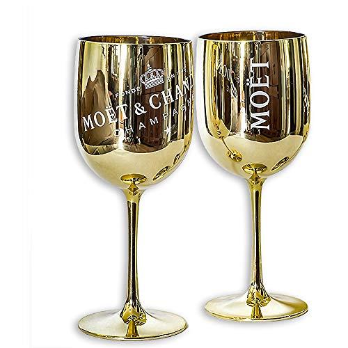 Moët & Chandon Ice Imperial Champagnergläser, goldfarben, 2 Stück