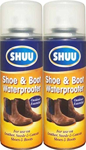 2-x-waterproof-shoe-boot-spray-leather-suede-canvas-shoe-protection-200ml