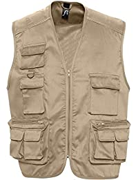 WILD - Gilet Reporter Unisex Multipoches