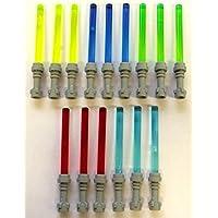 LEGO ® Star Wars™ 15 Laserschwerter in 5 Farben mit grauem Griff