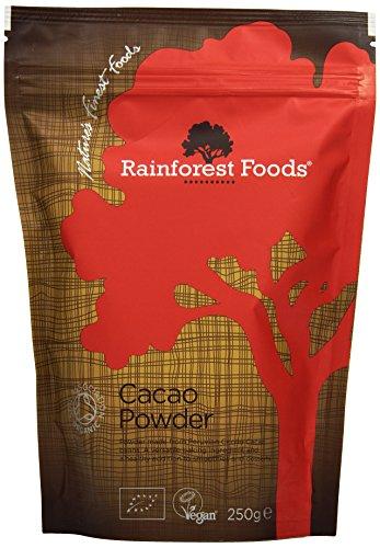 Rainforest Foods Organisches Kakaopulver, 1er Pack (1 x 250 g) - Bio