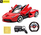 #5: Zest 4 toyz Gravity Sensing Steering Remote Control Ferrari R/C Car with Openable Doors and Rechargable Batteries. (Red).