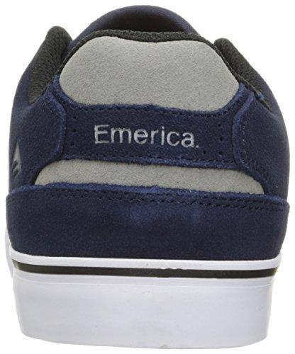 Reynolds Navy Pattinare Emerica Chaussures Hommes Grigio Bassa Vulc Bianco 6OOtUBpqw