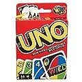 UNO Mattel-Un, Jeu de Cartes (W2087) Version Anglaise Voir Image