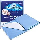 HappyNites - Alfombrilla de cama para cama (lavable, grande, 36x52, hospital 1500 ml, suave reutilizable,...