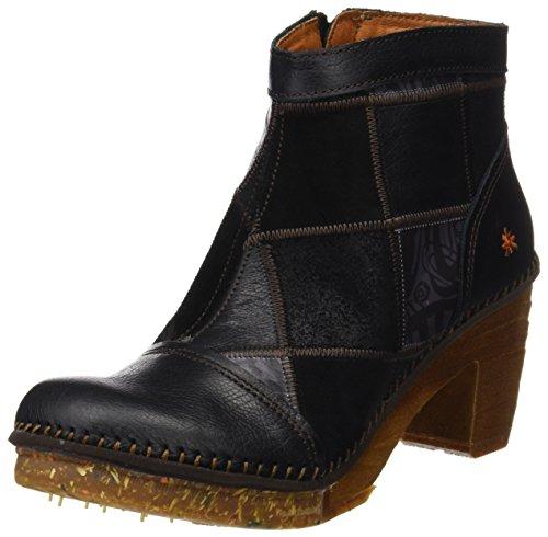 Art Damen Amsterdam Kurzschaft Stiefel, Schwarz (Memphis Black 1054), 40 EU (Schuhe Stiefel Art)