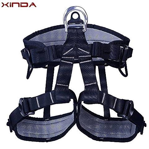 Doradus Xinda ceinture de sécurité spéléologie de sauvetage alpinisme rock professionnel buste harnais rappel de ceinture de sécurité