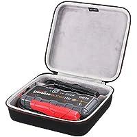 LTGEM EVA Duro Estuche Transporte de Viajes Funda Bolso Case para Arrancador ultraseguro con batería de litio NOCO Genius Boost HD 2000 Amp 12V