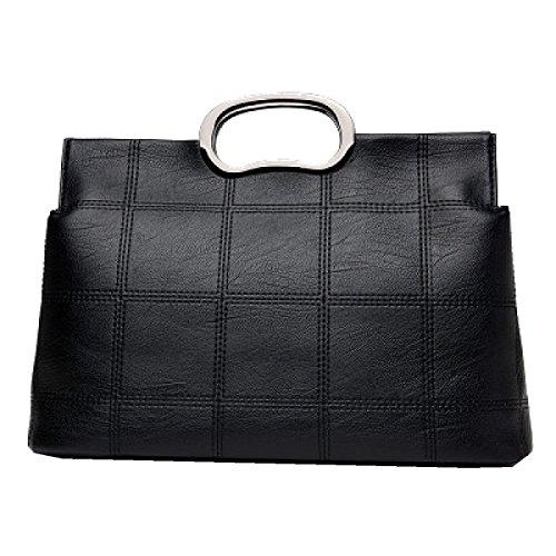 Yy.f Neue Feste Nähte Damenhandtaschen Art Und Weise Schulter-Kurier-Handtasche Eine Vielzahl Von Farben Gold