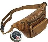 Hochwertige Leder Hüfttasche Bauchtasche Gürteltasche Reisetasche Ledertasche